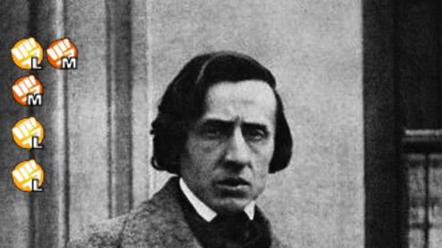 Chopin fait un plink