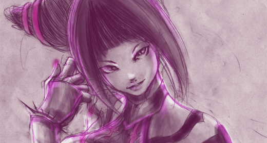 Juri Han, the purple bitch