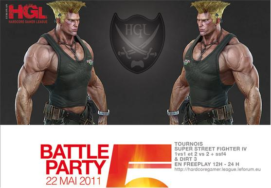 Battle Party 5, le 22 Mai