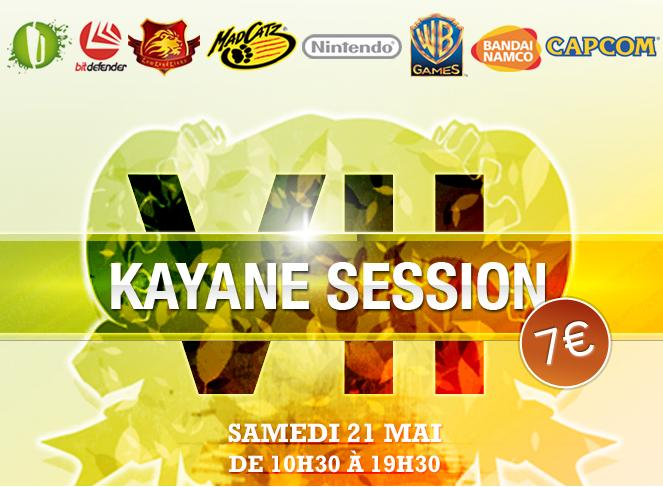 Kayane Session 7, Samedi 21 Mai !