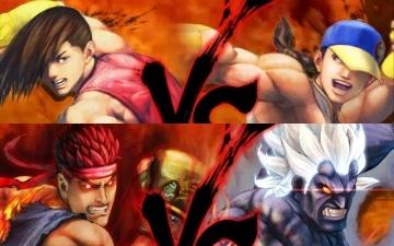 [SSF4AE] Yun, Yang, Evil Ryu et Oni (Taunts et Couleurs)