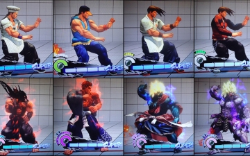 [SSF4AE] Le challengers arcade pack en vidéo
