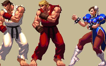 Street Fighter meets King of Fighters XII style