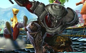 Poison et Yoshimitsu dans Street Fighter X Tekken