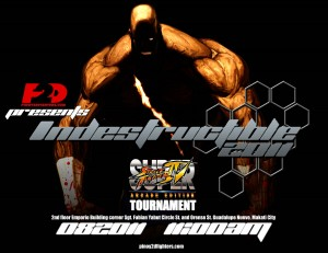 P2D Presents: INDESTRUCTIBLE 2011 (Résultats & Vidéos – 20/08/11) Updated 22/08/11