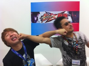 Ono vs. Harada – Round 3 (TGS 2011 Street Fighter x Tekken Stage Show)