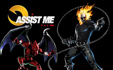 [UMVC3] GhostRider / Firebrand – Assist Me !!