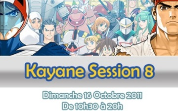 Kayane Session 8 & HumansGarden 2 : ouverture des inscriptions