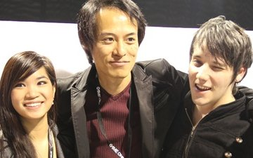 Kayane et Keysona interviewent Hisaharu Tago