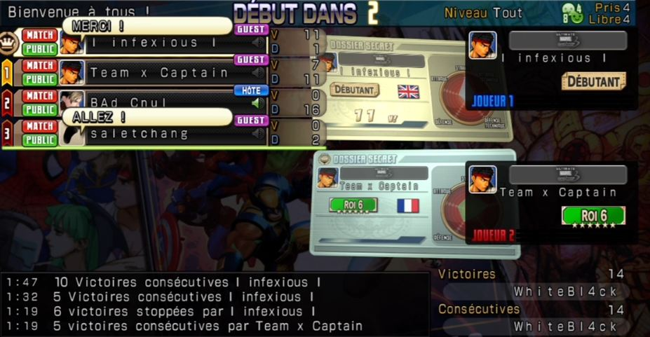 [UMVC3] Archives d'une session online