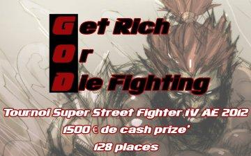 Get Rich Or Die Fighting 2K12 (17/03/2012)