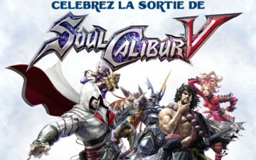 Soul Calibur V French Launch Event (Streaming LIVE)