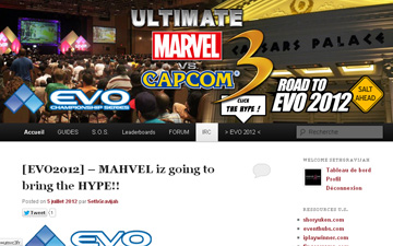 [EVO2012] – MAHVEL gonna bring the HYPE !!