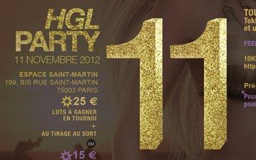 HGL Party 11 (Résultats et Vidéos – 11/11/2012)