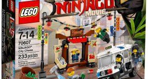 Lego Ninjago – La poursuite dans la Ville – 70607