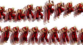 [SSF4AE] Dash – Jump – Walk