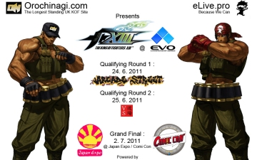 King of Fighters XIII@Evo2k11