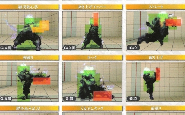 [SSF4AE] Evil Ryu et Oni hitbox