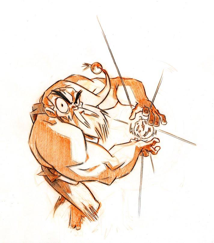 Project Gouken : un cartoon de  Laurent Rossi
