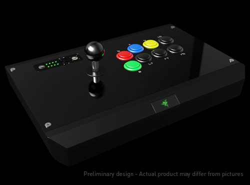 Razer «Bred to Fight» Stick – A New Challenger Has Entered the Ring! (UP dans les commentaires)