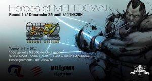 Heroes of Meltdown (Résultats et Vidéos – 25/08/2013)